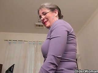 An aged dame means ecstasy part 35