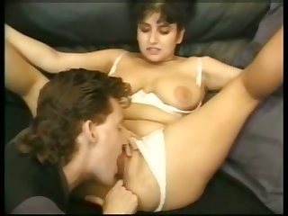 Toy addicted bitch with fat tits gets will not hear of twat shivered with an increment of fucked