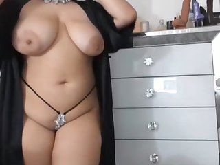 Sexy model strips 2 of 2