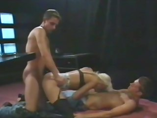 horny kermis giving to two guys
