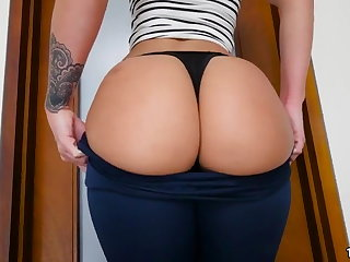 Jada Stevens Brings Say no to Big Ass With Fuck
