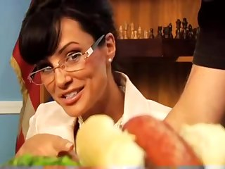 Lisa Ann Interracial Porn Scene In The Office