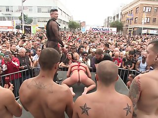 Gay parade plus anal orgies for along to naughty twinks