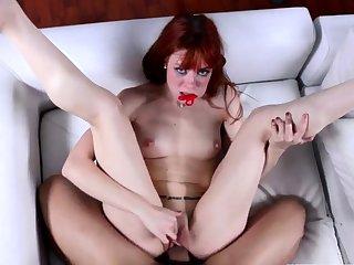 Babe, Cum, Hardcore, Massage, Pov, Red, Redhead, Teen