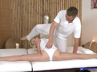 Odd rub-down with young little lady Mollycoddle Dream