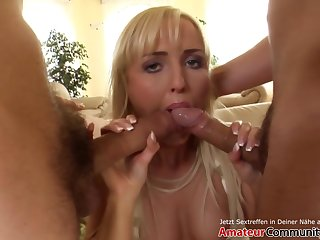 20-year-old Beauty Gets 2 Dicks Up Her Tight Ass