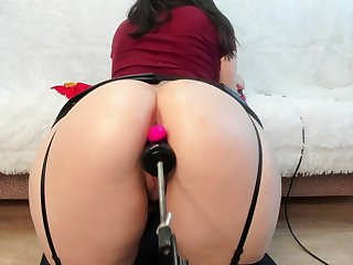 Doggy someone's skin huge ass for jessika