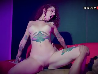 Hot inked gal interracial burgee adult clip